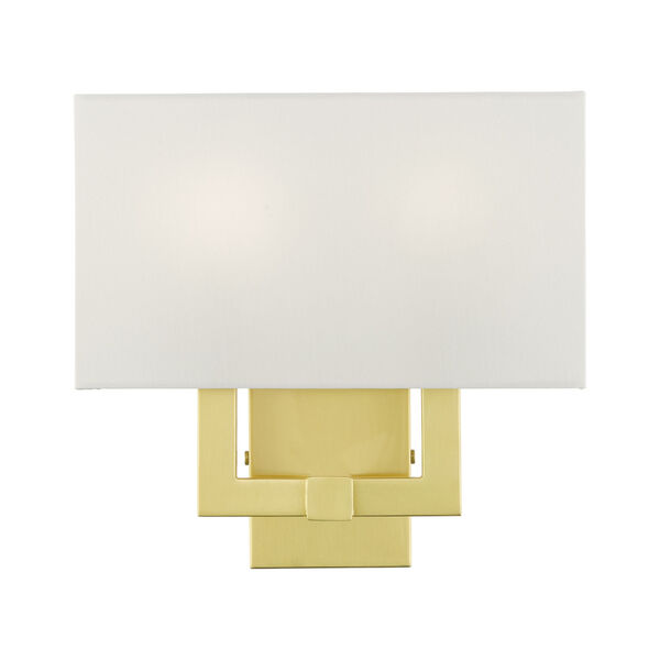 Meridian Satin Brass Two-Light ADA Wall Sconce, image 3