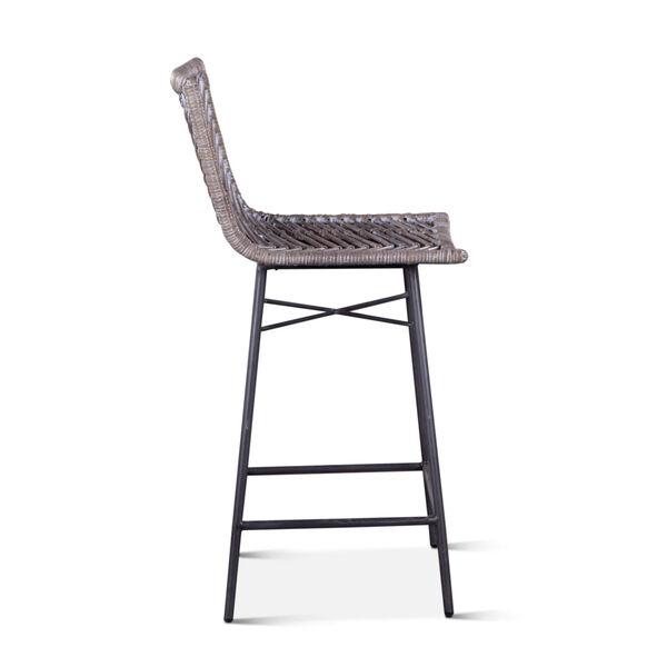 Bali Gray Whitewash Counter Chair, Set of 2, image 4