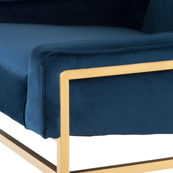 Theodore Peacock and Gold Occasional Chair, image 4