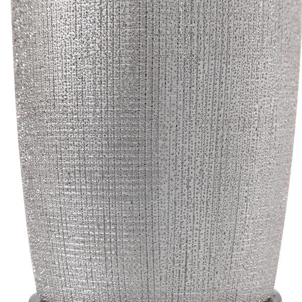 Kathleen Metallic Silver and Brushed Nickel Table Lamp, image 3
