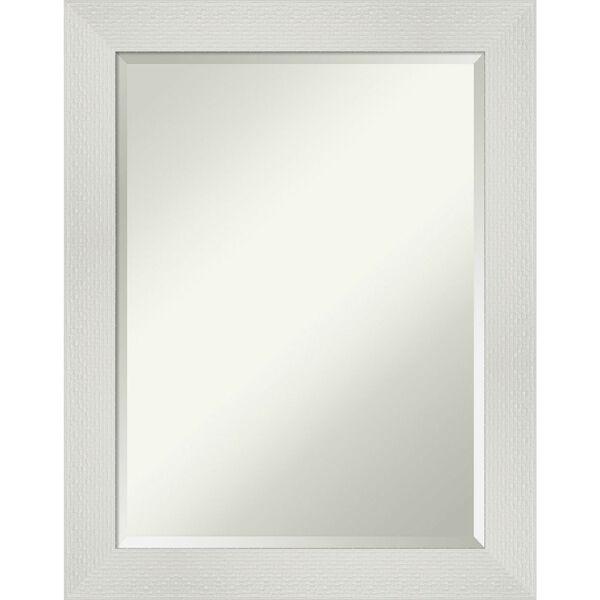 Mosaic White 22W X 28H-Inch Bathroom Vanity Wall Mirror, image 1