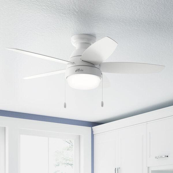 Lilliana Fresh White 44-Inch Two-Light LED Ceiling Fan, image 5