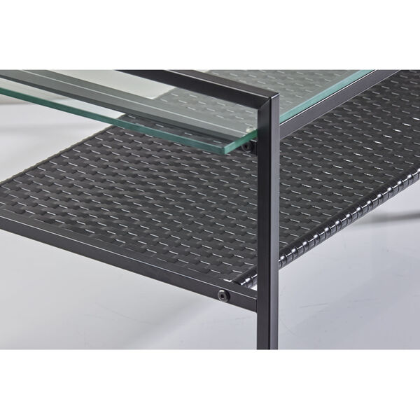Pearson Black Two-Tiered Coffee Table, image 6