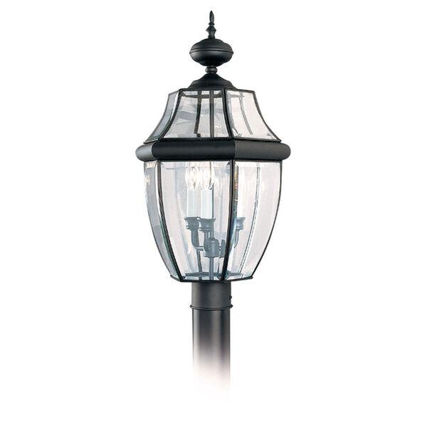 Black Post Lantern, image 1