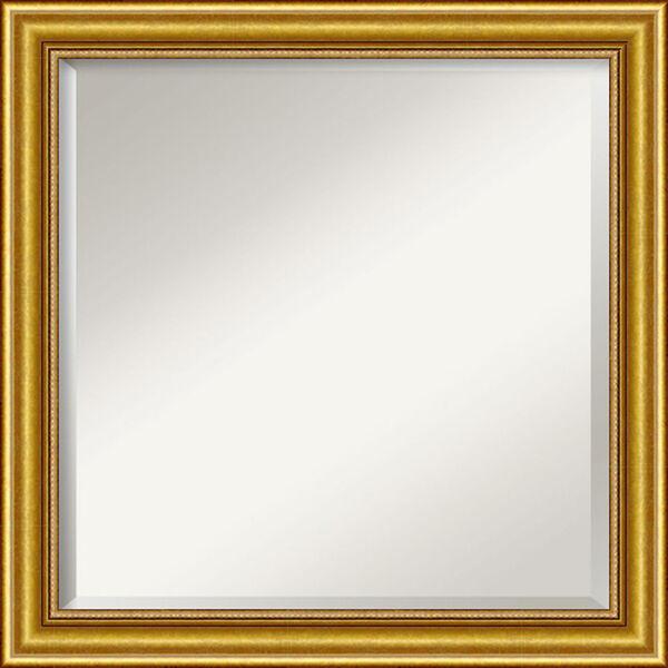 Gold 24-Inch Bathroom Wall Mirror, image 1