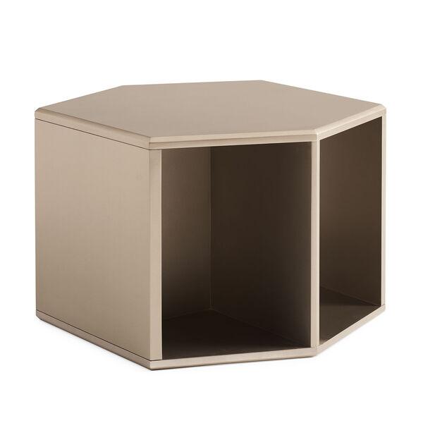 Modern Artisan Remix Tan End Table, image 1