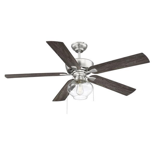 Lex Brushed Nickel LED Ceiling Fan, image 1