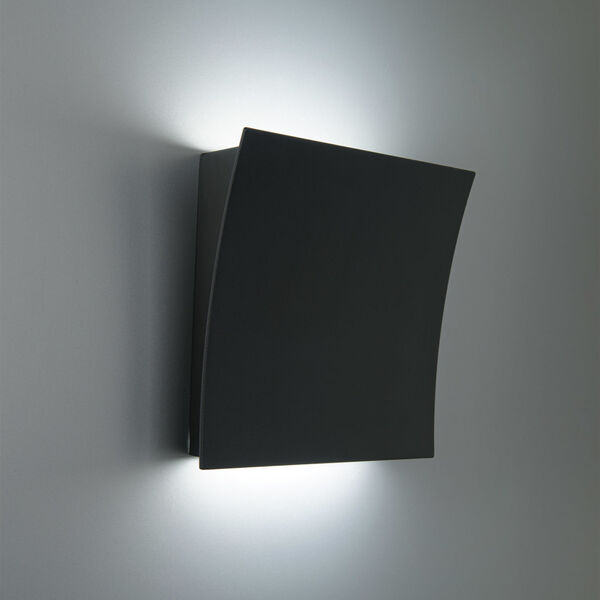Slide Black Two-Light LED 3000K Wall Sconce, image 4