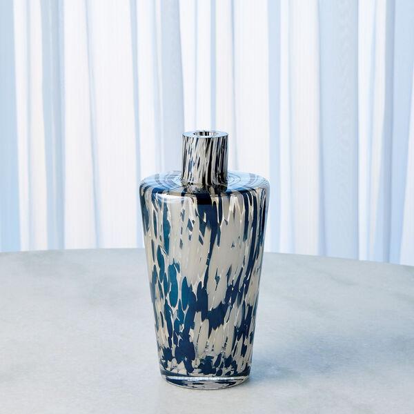 Black and Beige Confetti Shoulder Vase, image 6