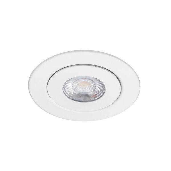 Lotos White LED ADA Adjustable Recessed Light, image 1
