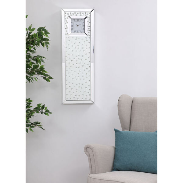 Sparkle Clear 35-Inch Wall Clock, image 2