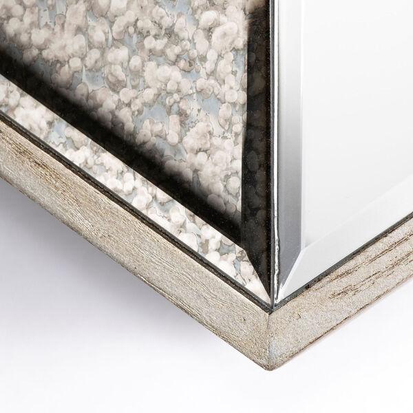 Cheveronna Brown 14-Inch Wood Frame Wall Mirror, image 6