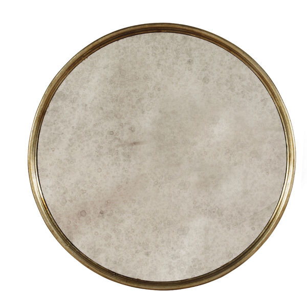 Sanctuary Round Mirrored Accent Table - Visage, image 2