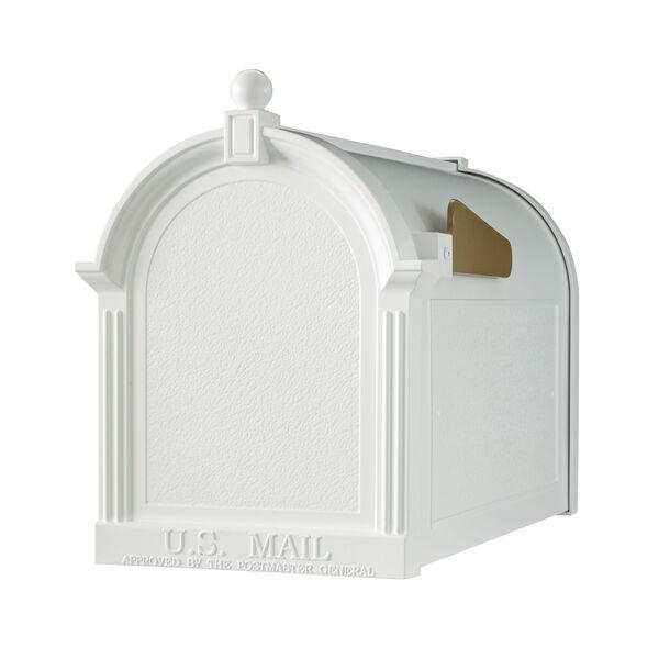 White Capital Mailbox, image 1