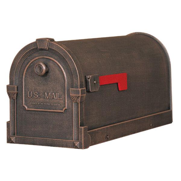 Savannah Copper Curbside Mailbox, image 1