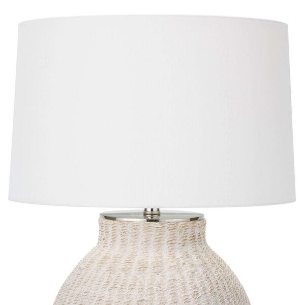 Hobi White One-Light Table Lamp, image 2