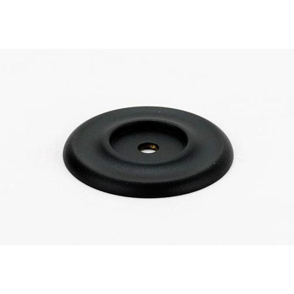 Matte Black 1 3/4-Inch Backplate, image 1