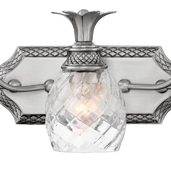 Plantation Polished Antique Nickel Five-Light Bath Light, image 2