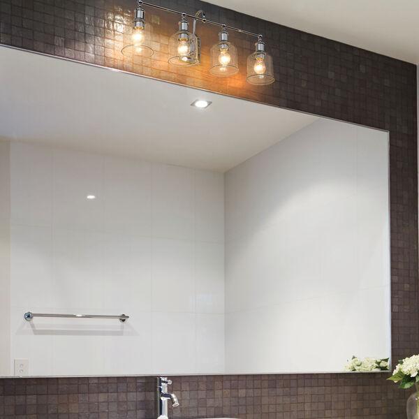 Bryant Chrome Four-Light Bath Vanity, image 2