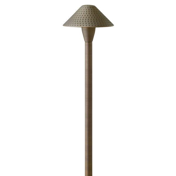 Hardy Island Matte Bronze 23-Inch LED Path Light, image 1