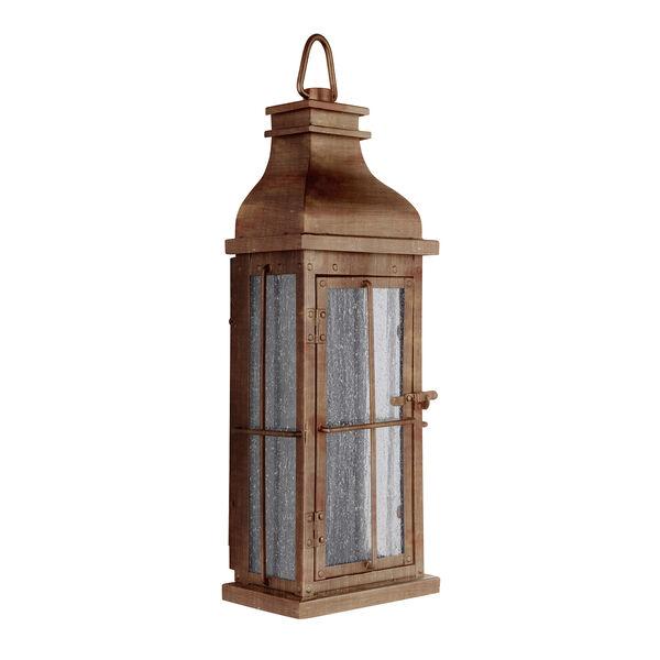Vincent Weathered Copper LED ADA Outdoor Pocket Lantern, image 2
