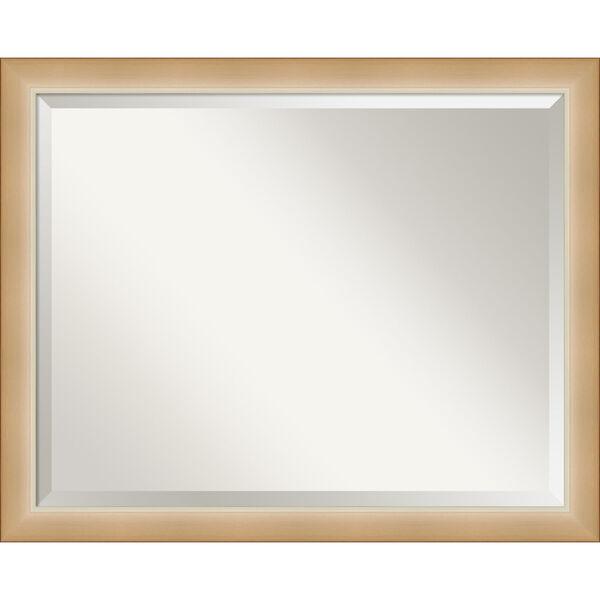 Eva Gold 31W X 25H-Inch Bathroom Vanity Wall Mirror, image 1