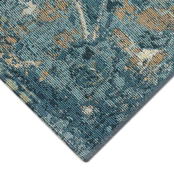 Liora Manne Marina Blue 39 x 59 Inches Kashan Indoor/Outdoor Rug, image 3