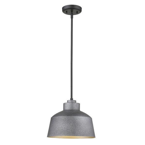 Barnes Gray One-Light Outdoor Convertible Pendant, image 4