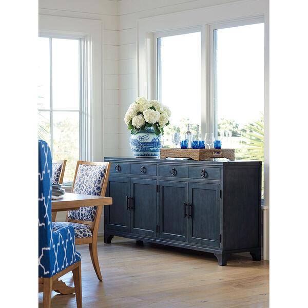 Newport Dark Blue Bayside Buffet, image 3