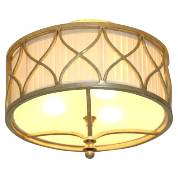 Fifth Avenue Winter Gold Three-Light Semi-Flush, image 3