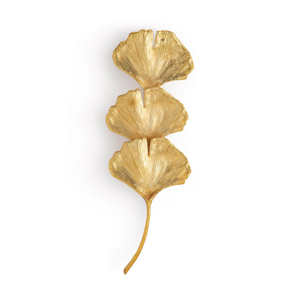Ginkgo Gold Two-Light Wall Sconce, image 1
