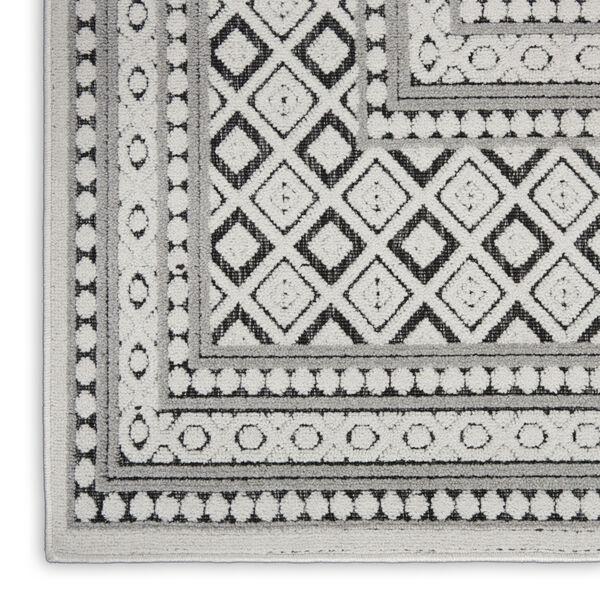 Calobra Dark Gray and Black 7 Ft. 10 In. x 9 Ft. 10 In. Rectangle Indoor/Outdoor Area Rug, image 5