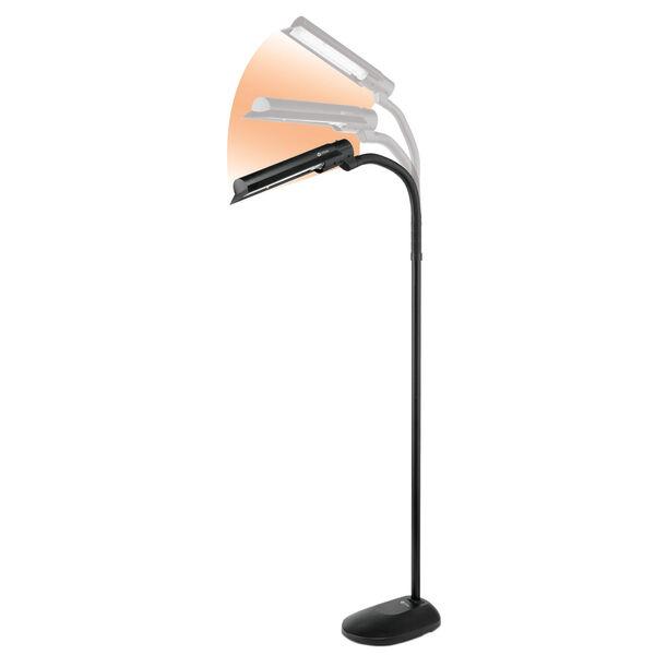 Black Wing Shade LED Floor Lamp, image 6