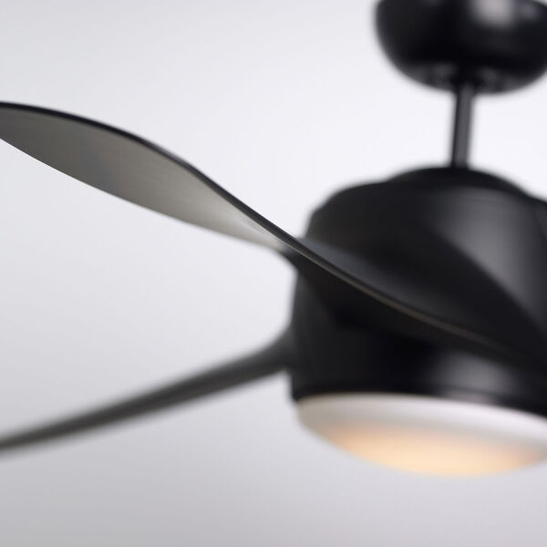 Luray Eco Barbeque Black 60-Inch LED Ceiling Fan, image 5