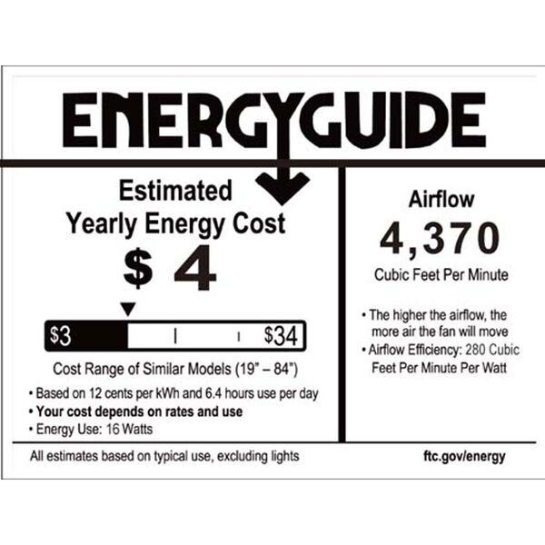 Aviator Graphite 54-Inch 3000K LED Downrod Ceiling Fans, image 4