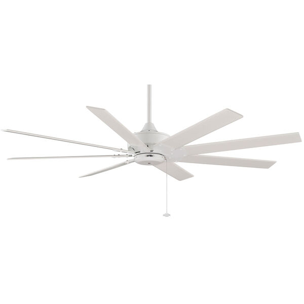 Levon Matte White 63-Inch Energy Star Ceiling Fan, image 1