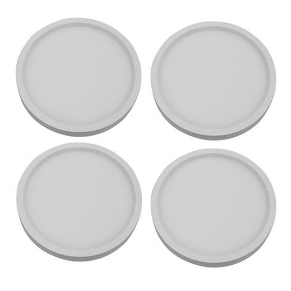 White 7-Inch 3000K LED Recessed Disk Light, image 4
