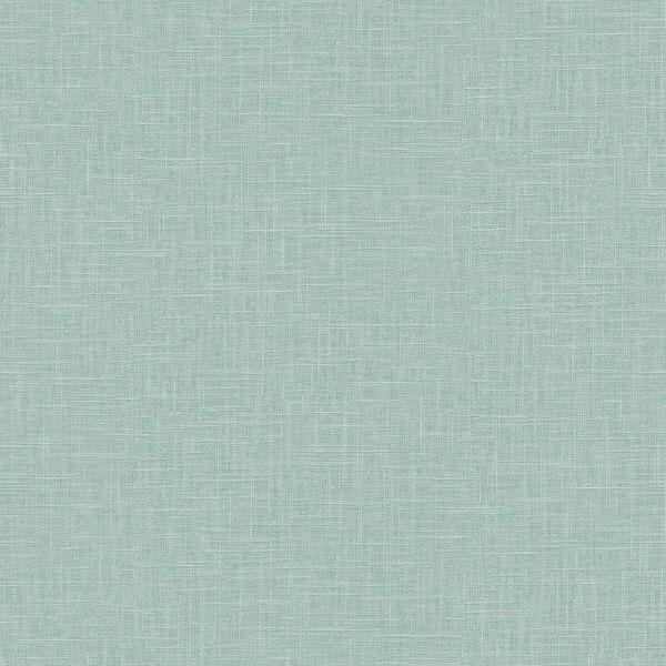 Boho Rhapsody Blue Dusk Indie Linen Embossed Vinyl Unpasted Wallpaper, image 2