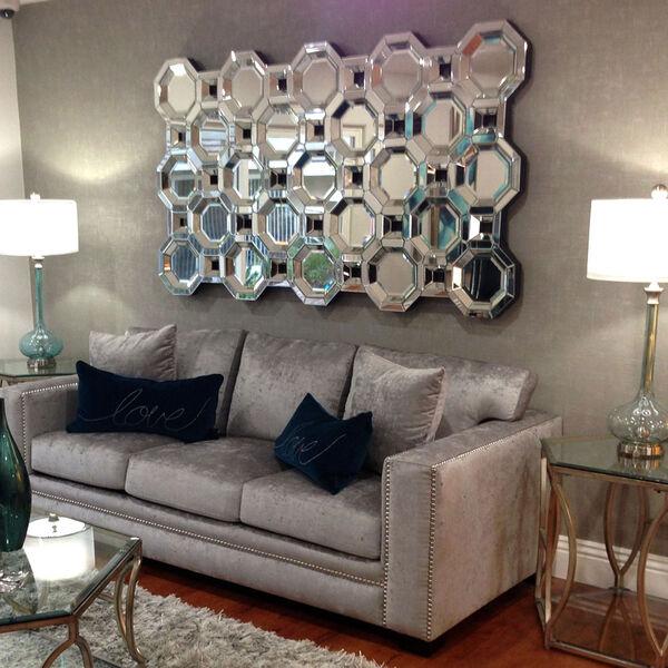 Crawford Transparent Leaner Rectangle Mirror, image 5