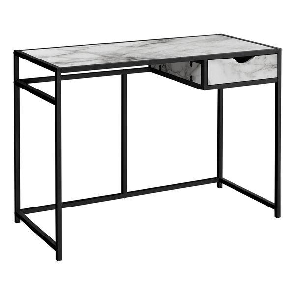20-Inch Rectangular Computer Desk, image 1