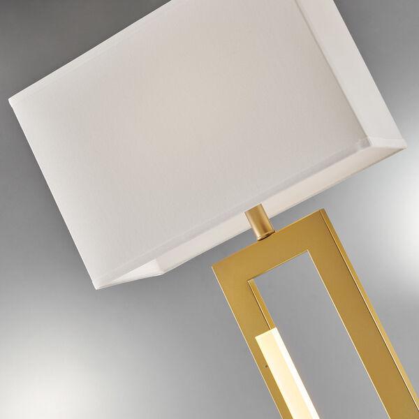Darrello Gold LED Floor Lamp, image 2
