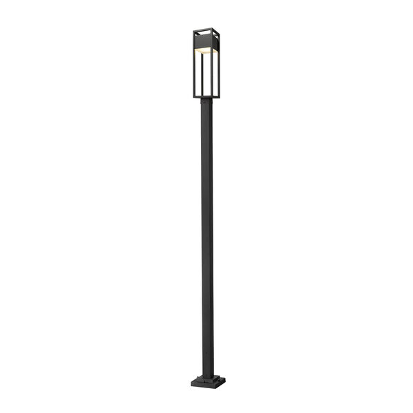Barwick Black 120-Inch One-Light LED Outdoor Post Mount, image 1