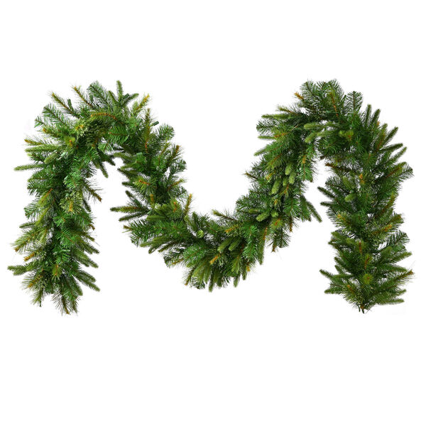 Green 9 Foot Cashmere Garland, image 1