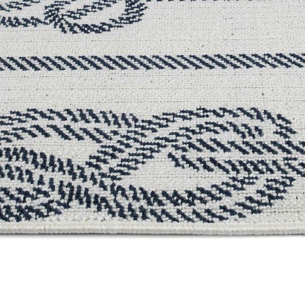 Puerto White Gray Knot Indoor/Outdoor Rug, image 4