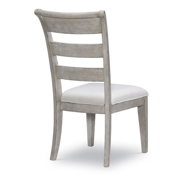 Belhaven Weathered Plank Ladder Back Side Chair, Set of Two, image 3