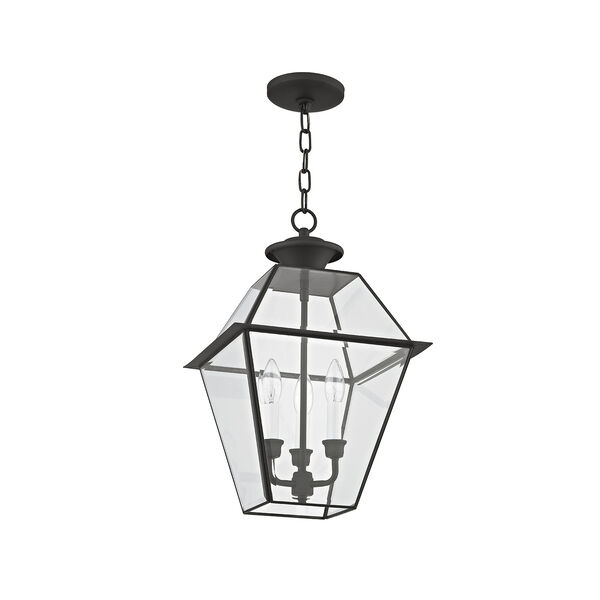 Westover Black Three-Light Outdoor Chain Hang, image 3