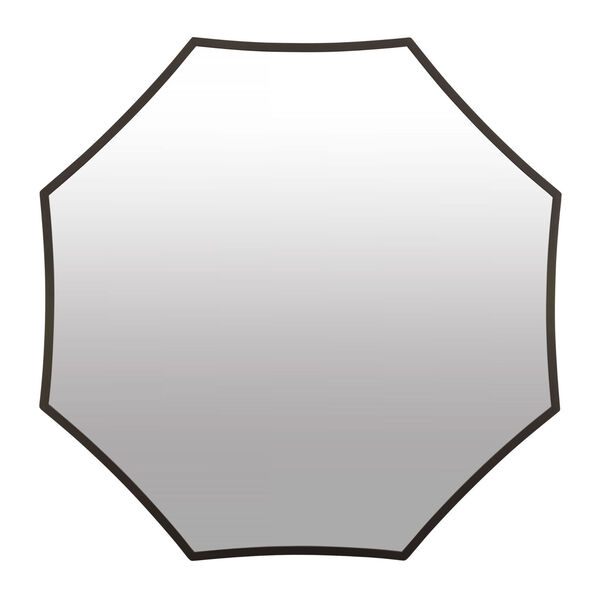 Jenner Black Wall Mirror, image 1