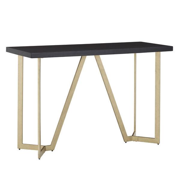 Helena Black and Gold Sofa Table, image 1