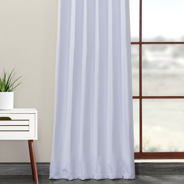 Blue Printed 108 x 50-Inch Polyester Blackout Curtain Single Panel, image 5