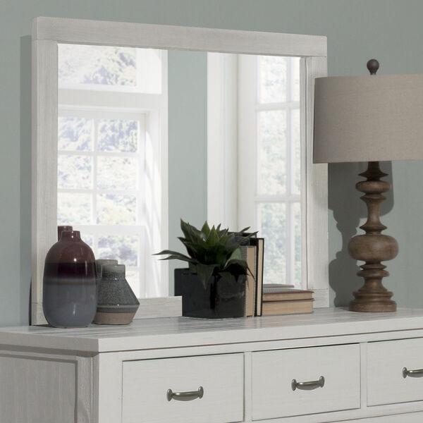 Highlands White 7 Drawer Dresser With Mirror, image 3